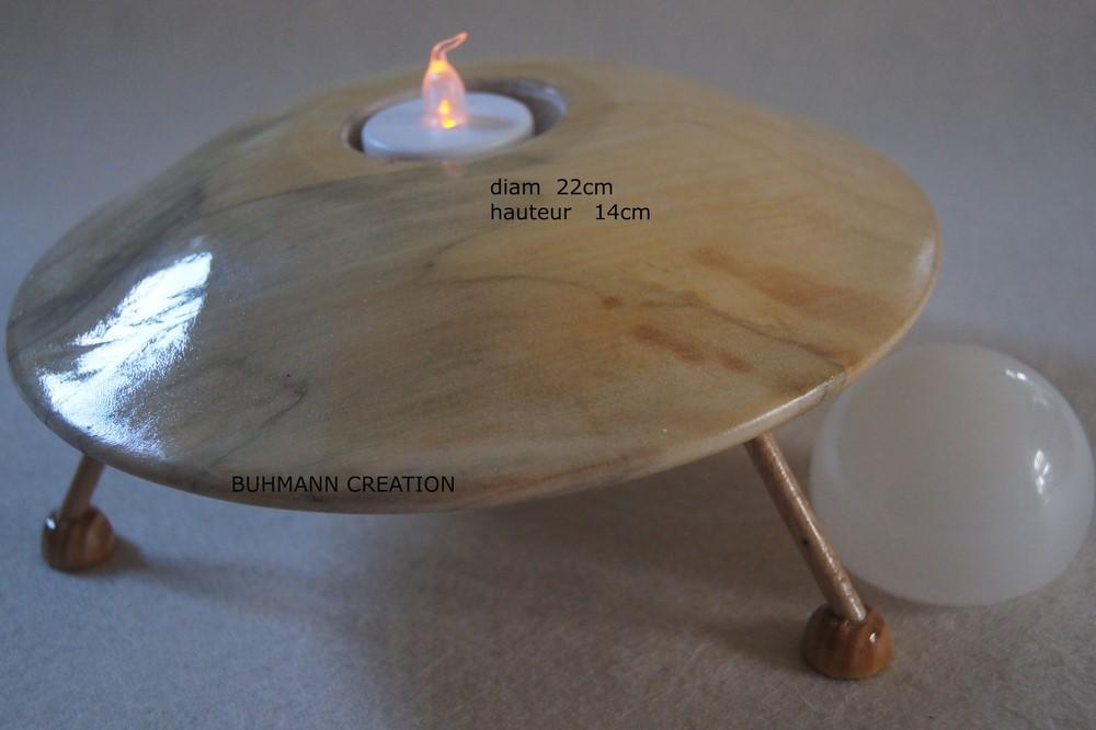 Veilleuse soucoupe volante (grande)